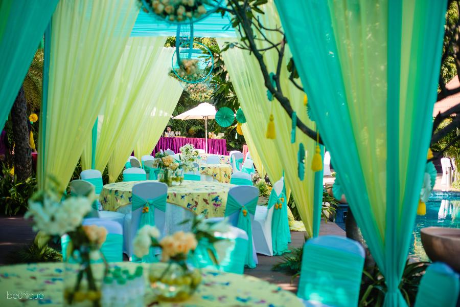 Mehndi & Haldi decor